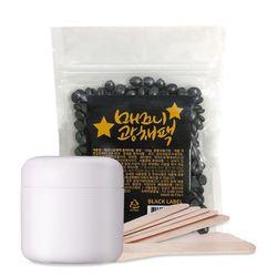 바나다 매끄니광채팩 블랙라벨 셀프왁싱 키트 100g