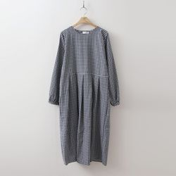 French Check Maxi Dress