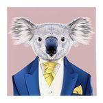 중형 패브릭 포스터 S064 귀여운 그림 천 액자 동물 친구 코알라