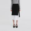 layered shirt midi skirt (2colors)