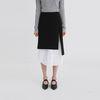 layered shirt midi skirt (2colors)