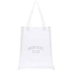 UNIONOBJET CLUB PVC ECO BAG - CLEAR