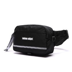 UNION TECH WAIST BAG  - BLACK