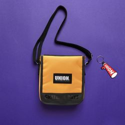 UNION COVER CROSS BAG - YELLOW