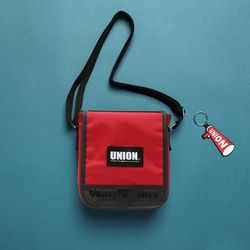 UNION COVER CROSS BAG - RED