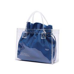 [파우치 ] UNIONOBJET CLEAR BAG - BLUE