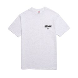 UNION SIGNATURE T-SHIRT - GRAY