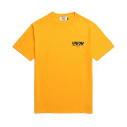 UNION SIGNATURE T-SHIRT - MUSTARD