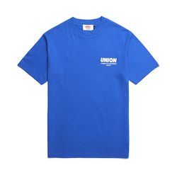 UNION SIGNATURE T-SHIRT - BLUE