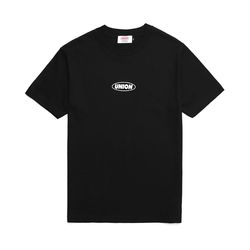 UNION BASIC LOGO T-SHIRT - BLACK