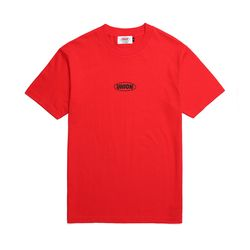 UNION BASIC LOGO T-SHIRT - RED