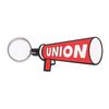 UNION MEGAFON KEY RING - RED