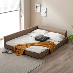 이너프2 저상형 패밀리침대  침대프레임 (Q)