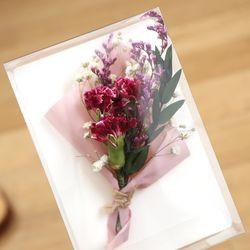 카네이션 미니꽃다발만들기 10세트
