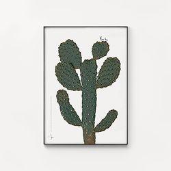 메탈 식물 포스터 인테리어 액자 선인장 프리 허그 [대형]