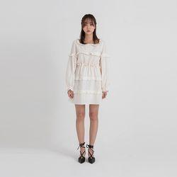 lace mini kangkang one-piece