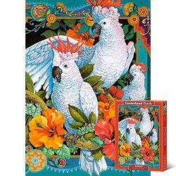 꽃과 열대지방의 새 1500피스 직소퍼즐 LD151714