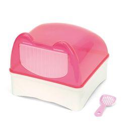 NEW AGE 스윙도어 친칠라 화장실 핑크 (NA-C031)
