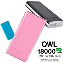 OWL 듀얼 급속보조배터리 18000mAh 퀵차지 퀄컴3.0