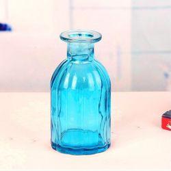 종모양  유리병 (블루) 수경재배 VASE