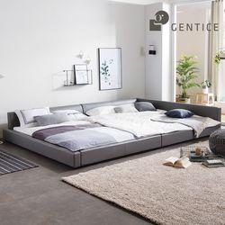 이너프2 저상형 패밀리침대 침대프레임 (SS+Q)