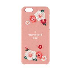 자수 무궁화(핑크) 아이폰/갤럭시 폰케이스