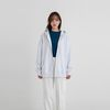 vivid boxy hood zip-up (7colors)
