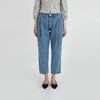 one pintuck baggy fit jeans