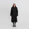 tell over fit double trench coat (2colors)