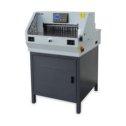전동재단기 QN-800 1회 800매재단 안전센서 자동압착