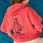 DAY-OFF HOODY PINK