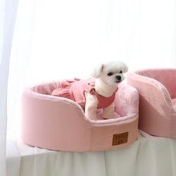 [무료배송] 모노베드 - 원형 핑크