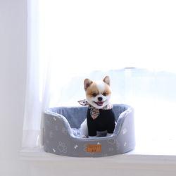 [무료배송] 모노베드 - 타원형 그레이