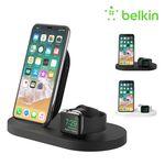 벨킨 아이폰 + 애플워치 + USB-A 3in1 무선 충전독 F8J235kr