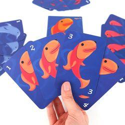 고피쉬 오리지널 카드게임  5세 이상 2-4인 유아 가족