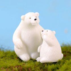 피규어 엄마와 아기곰 세트