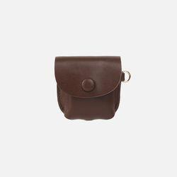 Button Shoulder A009 에어팟 가죽 케이스 초콜렛브라운