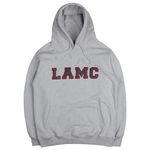 LAMC LEATHER BIG LOGO HOODY (GRAY)