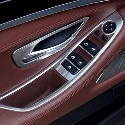 BMW 5시리즈 F10전용 윈도우버튼 프레임 크롬몰딩