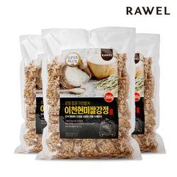 로엘 팝콩 이천현미쌀강정 350g 3봉