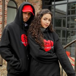 LAMC LOVE FOOL HOODY (BLACK)