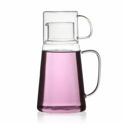 홈메이드 유리 물병 유리컵세트(1.3L)