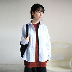 pocket oxford shirt (3colors)