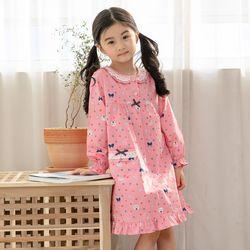 [무료배송] 도트고양이 아동 드레스