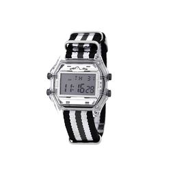 디지털 시계 나토 밴드 화이트블랙(AG2G9401DAWB)
