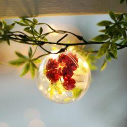 투명 행잉 데코 - 원형(6cm)