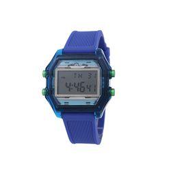 컬러풀 디지털 러버 밴드시계 블루(AG2G9402DALL)