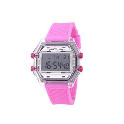 컬러풀 디지털 러버 밴드시계 핑크(AG2G9402DAWP)
