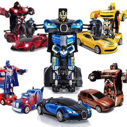 카론슨 변신로봇 자동차 장난감 변신카 RC카