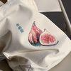 무화과 자수 가방 - fig embroidery
